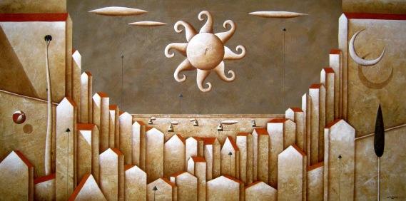 Carlo Mirabasso - Cinque desideri cm 60x120